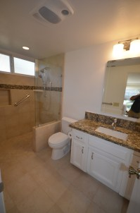 Zero-Threshold Shower Bathroom Remodel, Lompoc, CA