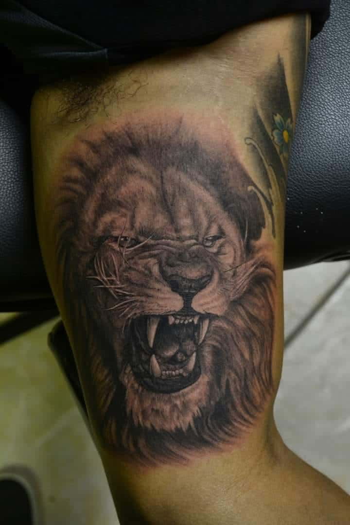 Only The Strong Survive Tattoo Lion : strong, survive, tattoo, Alfredo, Ageless