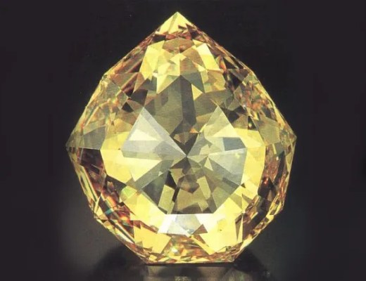 Famous antique florentine diamond