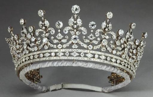 Antique Tiara for Queen Mary