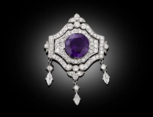 Antique Amethyst Jewelry on Pinterest