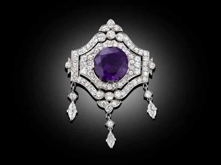 Antique Amethyst Jewelry on Pinterest
