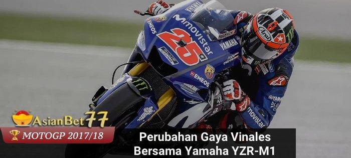 Perubahan Gaya Vinales Bersama Yamaha YZR-M1