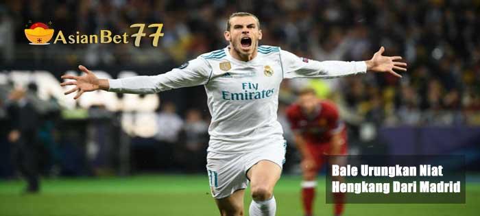 Bale Urungkan Niat Hengkang Dari Madrid - Agen Bola Piala Dunia 2018