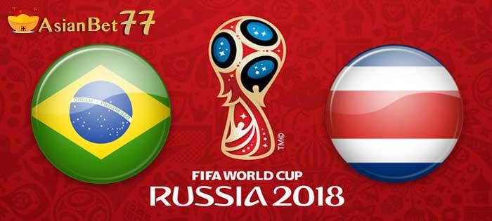 Prediksi Piala Dunia 2018 Brasil vs Kosta Rika - Agen Bola Piala Dunia 2018