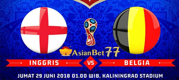 Prediksi Grup G Inggris vs Belgia - Agen Bola Piala Dunia 2018