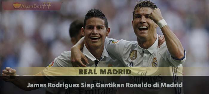 James Rodriguez Siap Gantikan Ronaldo di Madrid Sabung Ayam Online