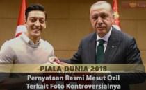 Pernyataan Resmi Mesut Ozil Terkait Foto Kontroversialnya Sabung Ayam Online
