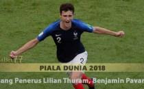 Sang Penerus Lilian Thuram, Benjamin Pavard Agen Bola Piala Dunia 2018