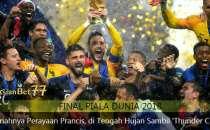 Hujan Deras Warnai Pesta Kemenangan Prancis - Agen Bola Piala Dunia 2018