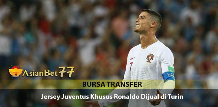 Jersey Edisi Cristiano Ronaldo Mulai Dijual di Turin - Agen Bola Piala Dunia 2018