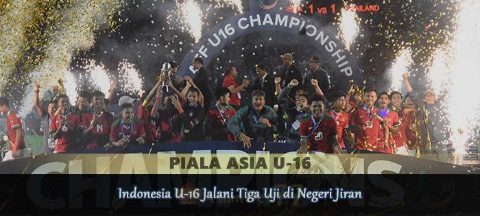 Indonesia U-16 Jalani Tiga Uji di Negeri Jiran Agen bola online