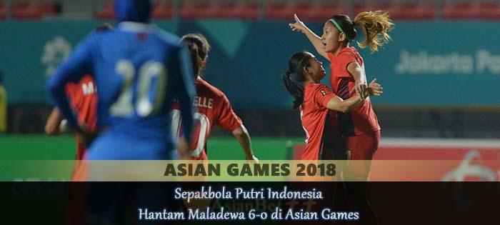 Sepakbola Putri Indonesia Hantam Maladewa 6-0 di Asian Games Agen bola online
