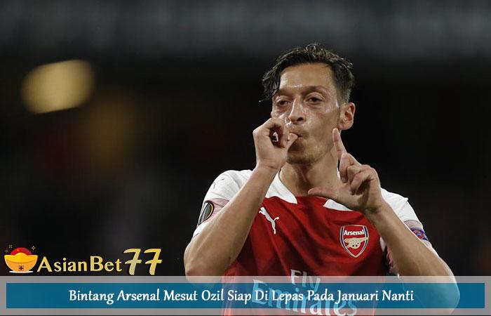 Bintang-Arsenal-Mesut-Ozil-Siap-Di-Lepas-Pada-Januari-Nanti