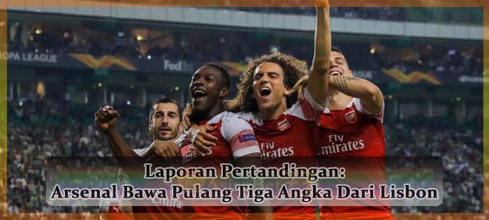 Laporan Pertandingan Arsenal Bawa Pulang Tiga Angka Dari Lisbon Agen bola online