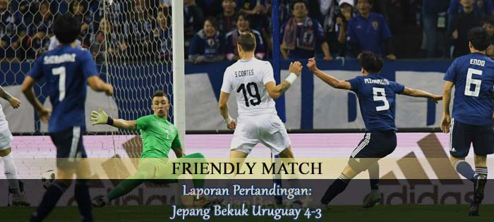 Laporan Pertandingan Jepang Bekuk Uruguay 4-3 Agen bola online