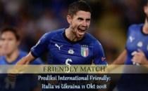 Prediksi International Friendly Italia vs Ukraina 11 Okt 2018 Agen bola online