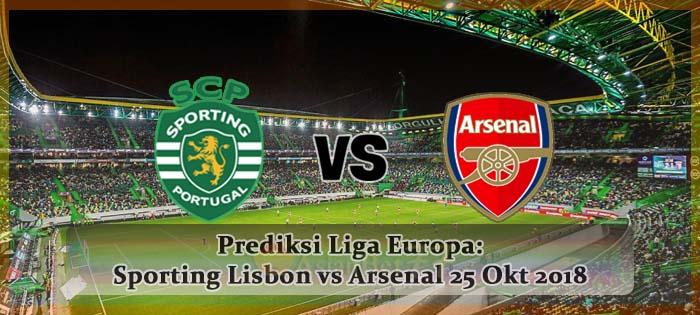 Prediksi Liga Europa Sporting Lisbon vs Arsenal 25 Okt 2018 Agen bola online