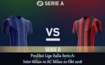 Prediksi Liga Italia Serie A Inter Milan vs AC Milan 22 Okt 2018 Agen bola online