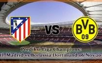 Prediksi Liga Champions Atletico Madrid vs Borussia Dortmund 06 Nov 2018 Agen bola online