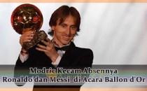Modric Kecam Absennya Ronaldo dan Messi di Acara Ballon d'Or Agen bola online