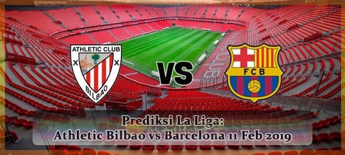 Prediksi La Liga Athletic Bilbao vs Barcelona 11 FEB 2019 Agen bola online