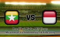 Prediksi Piala AFF U-22 Myanmar Vs Indonesia 18 Feb 2019 Agen bola online