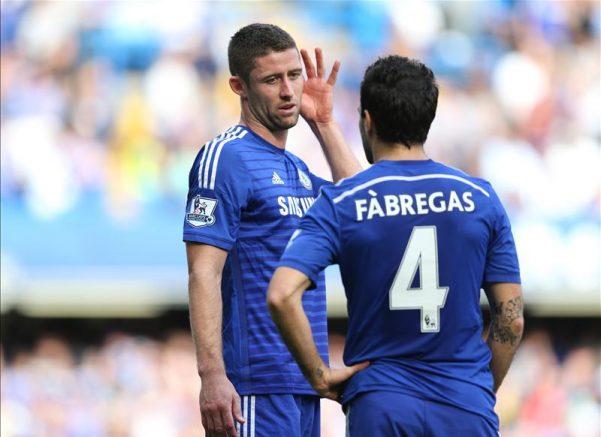 Cesc Fabregas Dan Gary Cahill Tidak Bisa Dimainkan Lawan Brighton