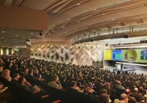 Palais des Congres de Paris - ブルー講堂
