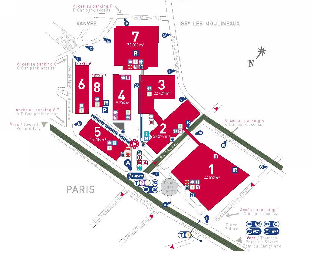Paris expo porte de versailles agence fr - 1 place de la porte de versailles 75015 paris ...