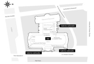 Grand Palais - 図面