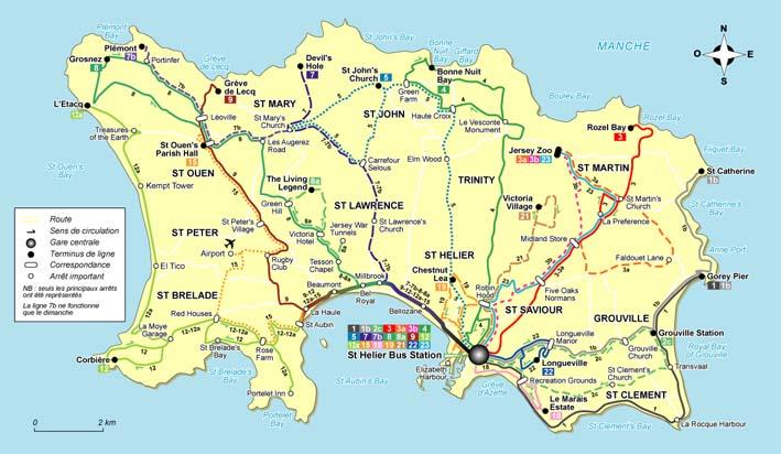 Ile De Jersey Agence De Voyages Vannes