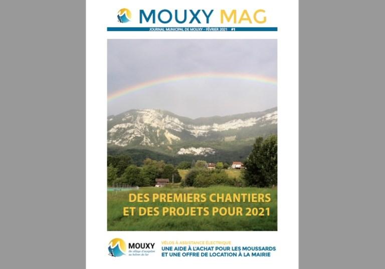 Premier numéro de Mouxy Mag