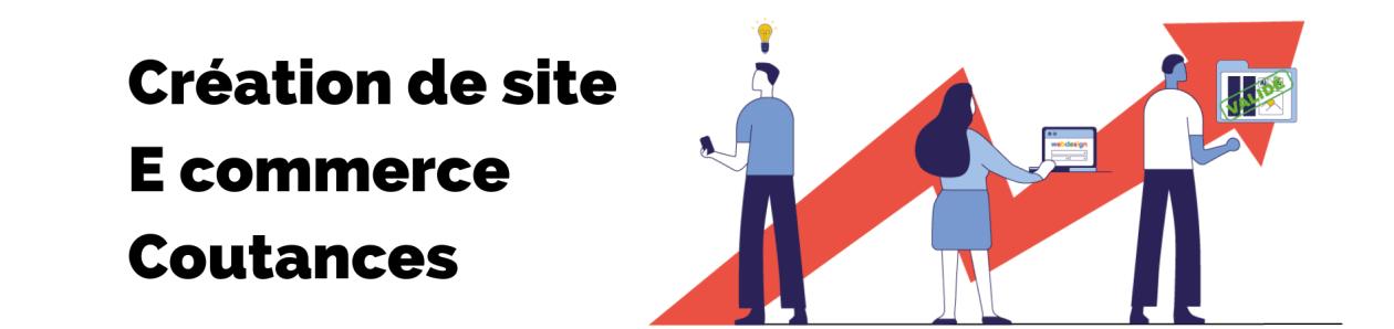 Bannière de la page création de site ecommerce coutances de l'agence rt