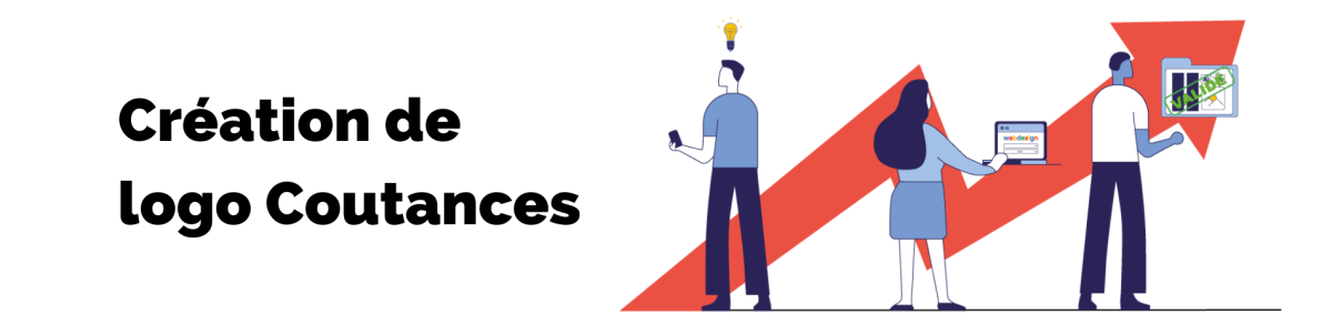 bannière de la page création de logo coutances de l'agence rt