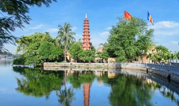 La pagode Trân Quôc