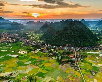 La topographie du Vietnam Mai Chau - Circuit Hors sentiers battus