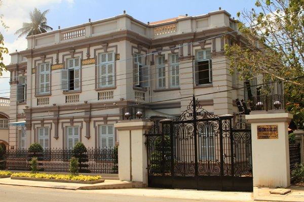 Découverte Bac Lieu sites attrayants - maison de Cong tu Bac Lieu
