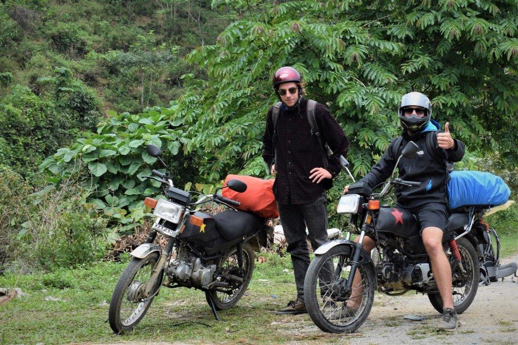 voyage moto au nord du vietnam