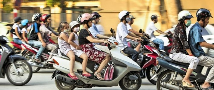 Voyage à moto au Vietnam