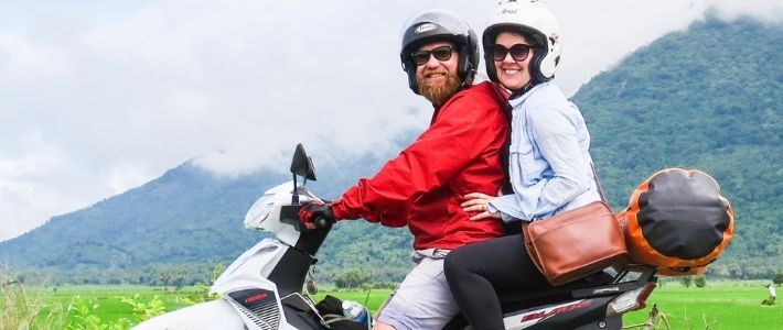voyage à moto à Mai Chau