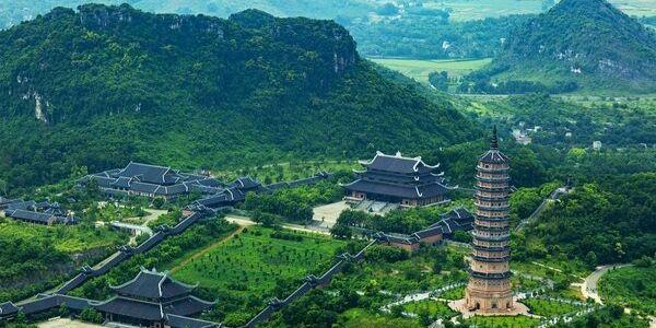 pagodes au nord au vietnam