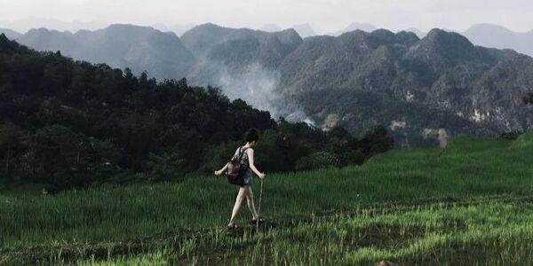 une randonnée au Vietnam à Pu Luong