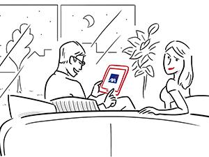 communication BD vidéo application