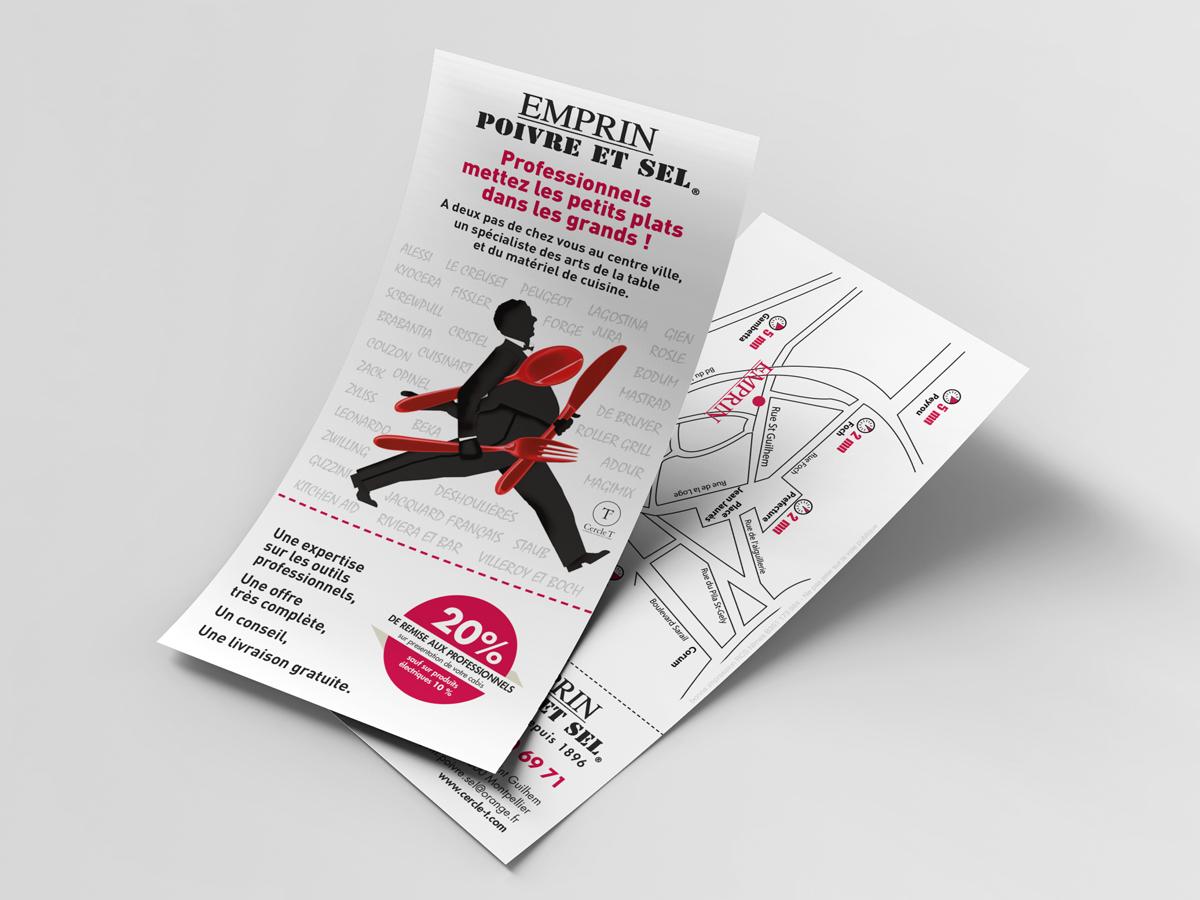 flyers de communication