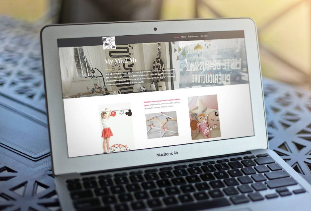 My Mini Me - Concept Store, online, Agence DECALE