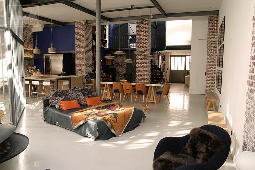 Loft Avec Patio Clav0024 Agence Mayday Reprage De