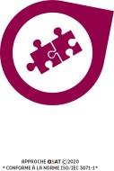 Icône pour l'organisation des informations :  image de deux morceaux de casse tête