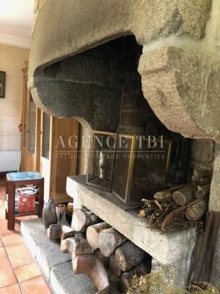 801 TBI Maison de pierre vue mer Penn al Lann Carantec Finistère bord de mer proche plage et Golf