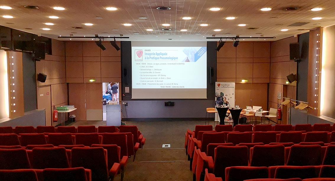Congrès médical Club Thorax 2019 - Salle plénière - Hôtel Mercure - Toulouse